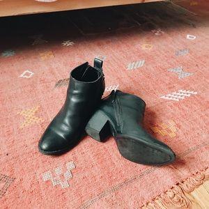 Dolce Vita Black Heeled Booties